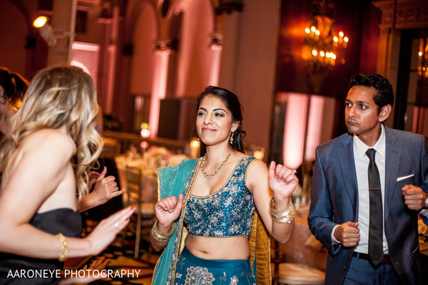 Reception in Los Angeles, CA Indian Wedding Reception by Aaroneye Photography