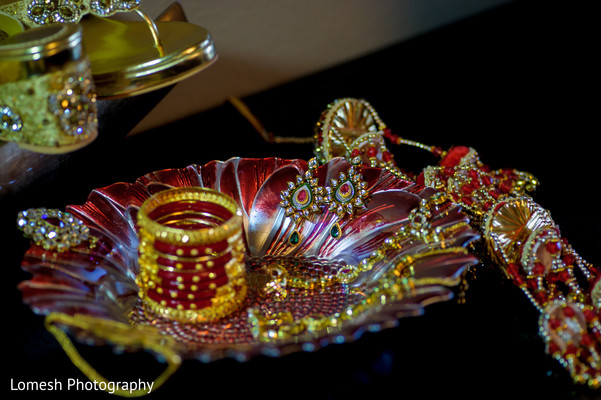 Bridal Jewelry in Grapevine, TX Indian Wedding by Lomesh Photography