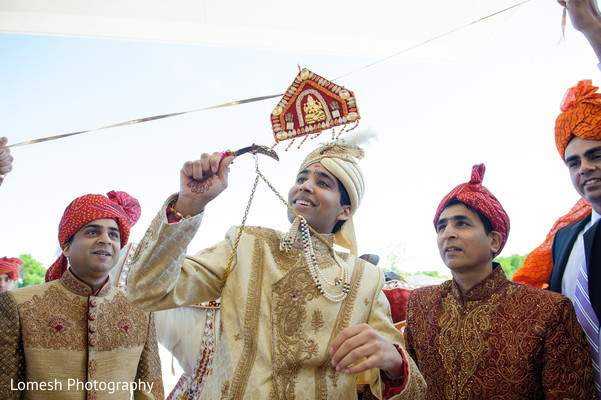 Baraat in Grapevine, TX Indian Wedding by Lomesh Photography