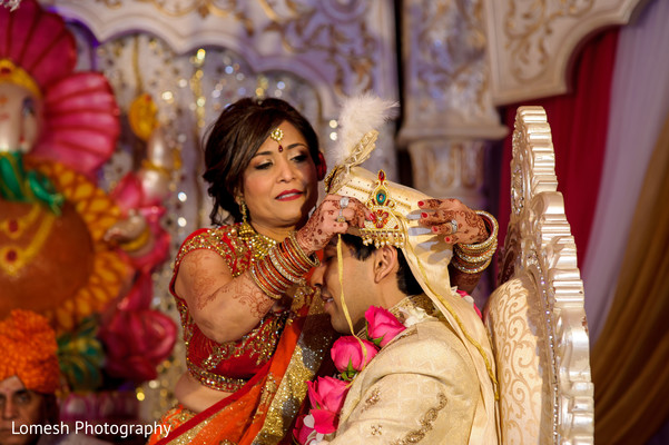 Ceremony in Grapevine, TX Indian Wedding by Lomesh Photography