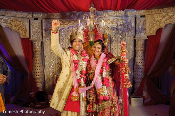 Wedding Portrait in Grapevine, TX Indian Wedding by Lomesh Photography