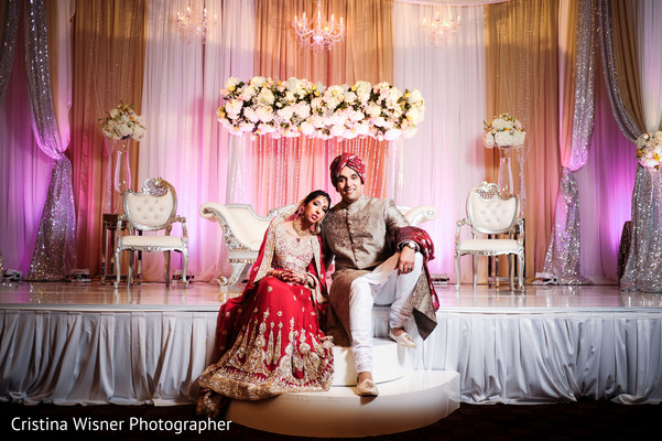 Portraits in Dallas, TX Indian Wedding by Cristina Wisner Photographer