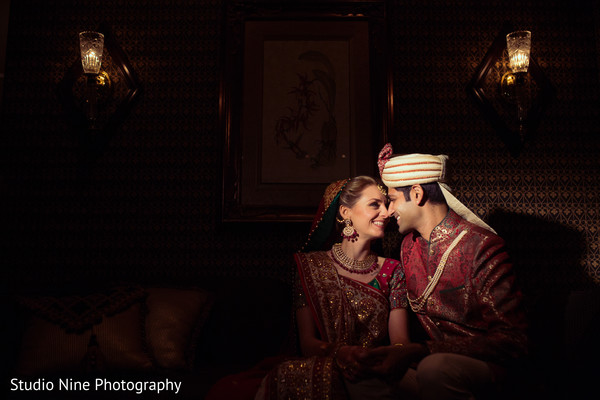 Portraits in Florham Park, NJ Indian Fusion Wedding by Studio Nine Photography