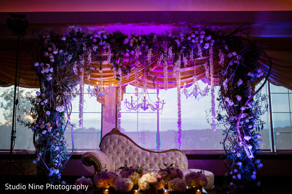 indian wedding reception,indian wedding reception floral and decor,indian wedding floral and decor,sweetheart stage