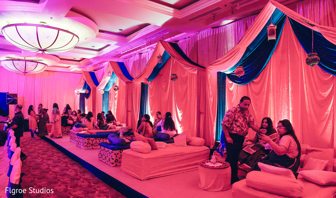 Sangeet in Mumbai Indian Wedding by Flgroe Studios