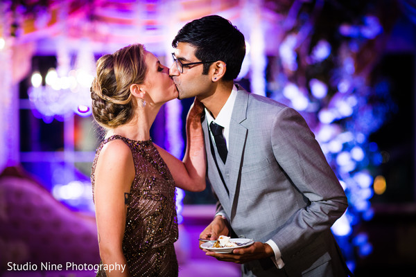 Reception in Florham Park, NJ Indian Fusion Wedding by Studio Nine Photography