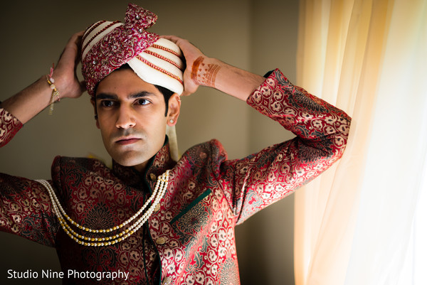 indian bride getting ready,indian groom fashion