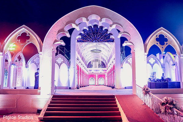 Reception Venue in Mumbai Indian Wedding by Flgroe Studios