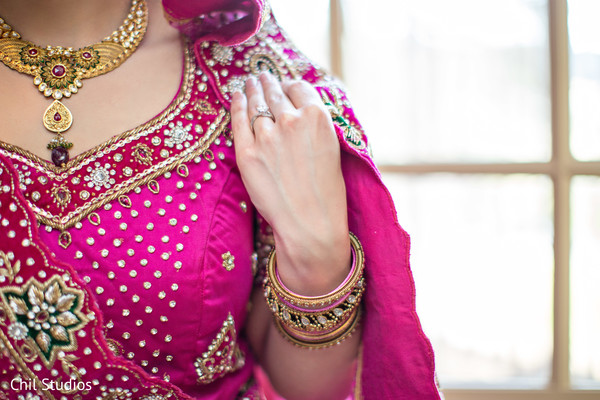 Getting Ready in Atlanta, GA Indian Fusion Wedding by Chil Studios