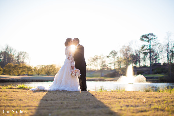 Portraits in Atlanta, GA Indian Fusion Wedding by Chil Studios
