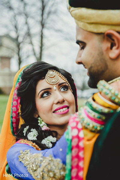Portraits in Baltimore, MD Indian Wedding by HnM Photoz
