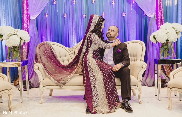 indian wedding portraits,sweetheart stage