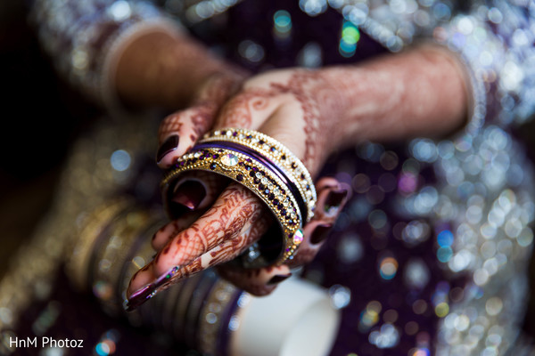 Getting Ready in Baltimore, MD Indian Wedding by HnM Photoz