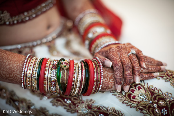 Bridal Jewelry in Cinnaminson, NJ Indian Wedding by KSD Weddings