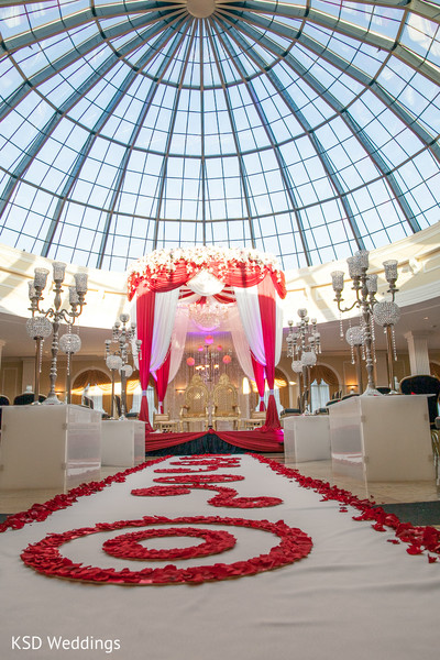 Mandap in Cinnaminson, NJ Indian Wedding by KSD Weddings