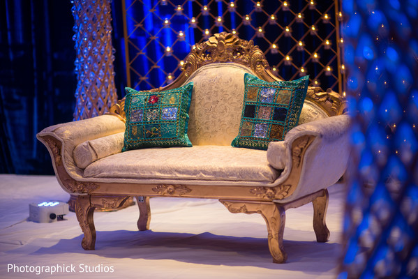 indian wedding reception floral and decor,indian wedding floral and decor,venue. sweetheart stage