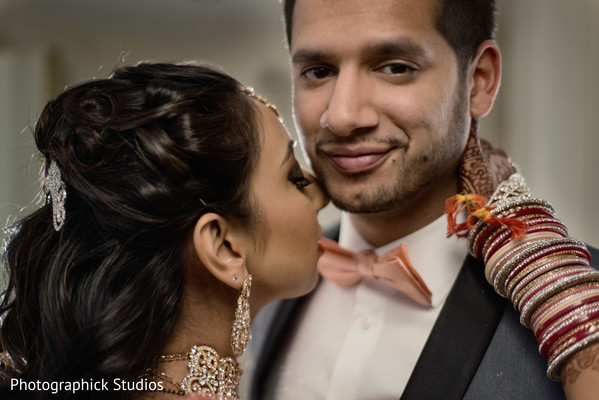 Portraits in Baltimore, MD Indian Wedding by Photographick Studios