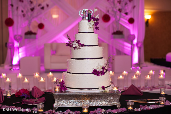 Wedding Cake in Cinnaminson, NJ Indian Wedding by KSD Weddings