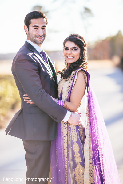 Portraits in Atlanta, GA Pakistani Wedding by FengLong Photography