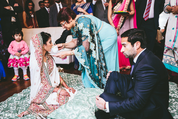 Ceremony in Atlanta, GA Pakistani Wedding by FengLong Photography