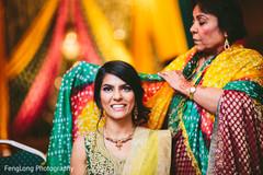 The pithi and sangeet celebration!