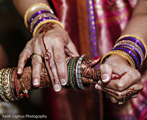 Getting Ready in Virginia Beach, VA Indian Wedding by Keith Cephus Photography