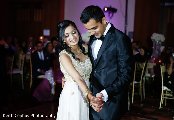 Reception in Virginia Beach, VA Indian Wedding by Keith Cephus Photography