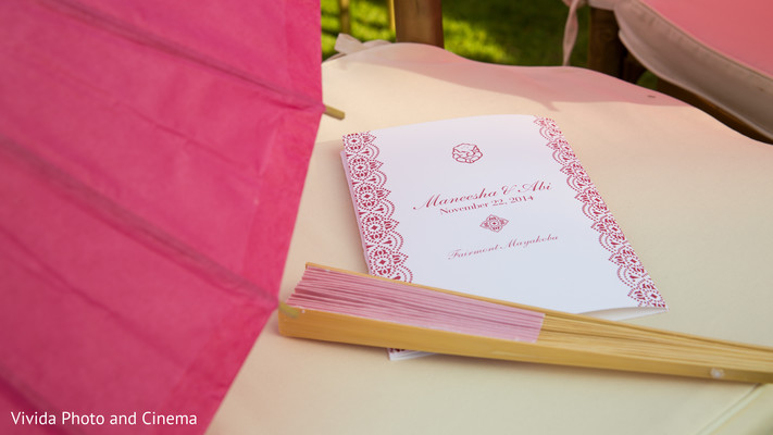 Stationery in Playa del Carmen, Mexico Indian Destination Wedding by Vivida Photo & Cinema