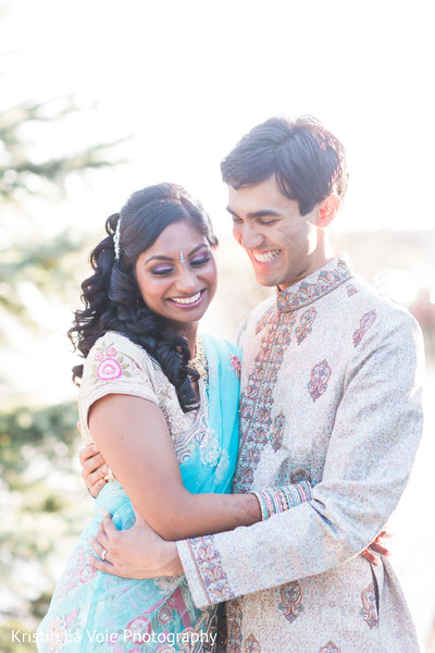 Portraits in Lombard, IL Indian Wedding by Kristin La Voie Photography