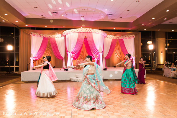 Reception in Lombard, IL Indian Wedding by Kristin La Voie Photography