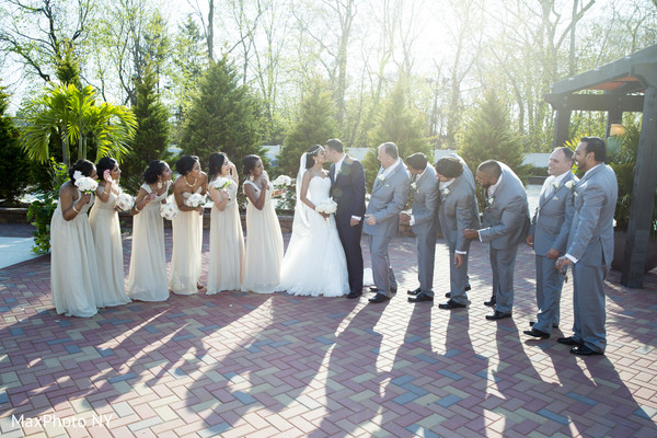 Portraits in Woodbury, NY Indian Fusion Wedding by MaxPhoto NY