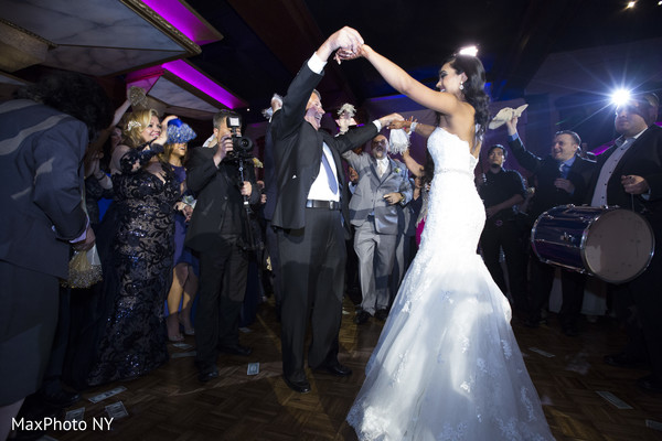 Reception in Woodbury, NY Indian Fusion Wedding by MaxPhoto NY