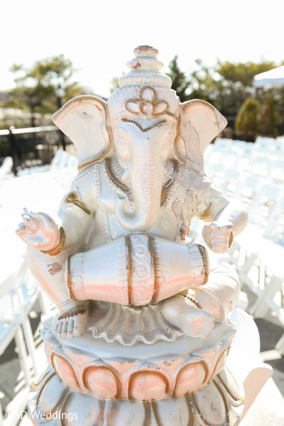 Ceremony in New Rochelle, NY Indian Wedding by KSD Weddings