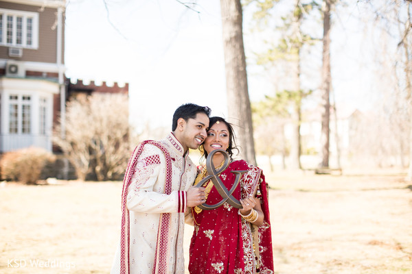 Portraits in New Rochelle, NY Indian Wedding by KSD Weddings