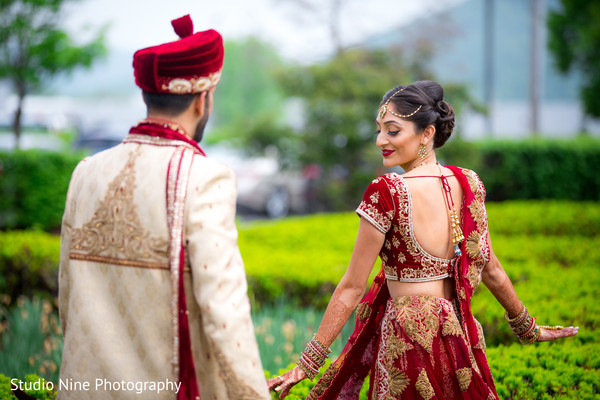 Portraits in Mahwah, NJ Indian Wedding by Studio Nine Photography