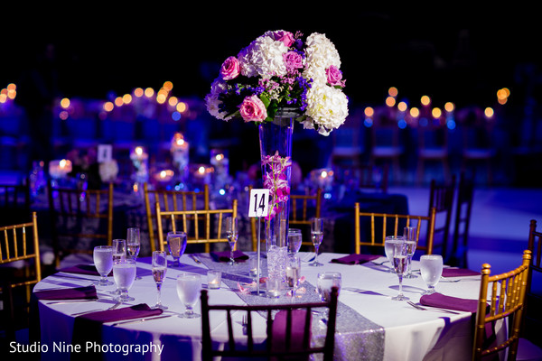 Reception in Mahwah, NJ Indian Wedding by Studio Nine Photography
