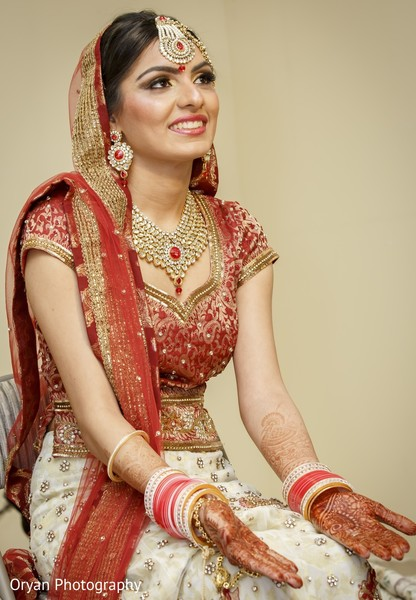 Getting Ready in Houston, TX Indian Wedding by Oryan Photography