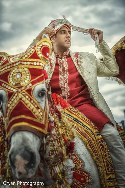 Baraat in Houston, TX Indian Wedding by Oryan Photography