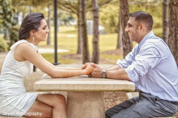 Portraits in Houston, TX Indian Wedding by Oryan Photography