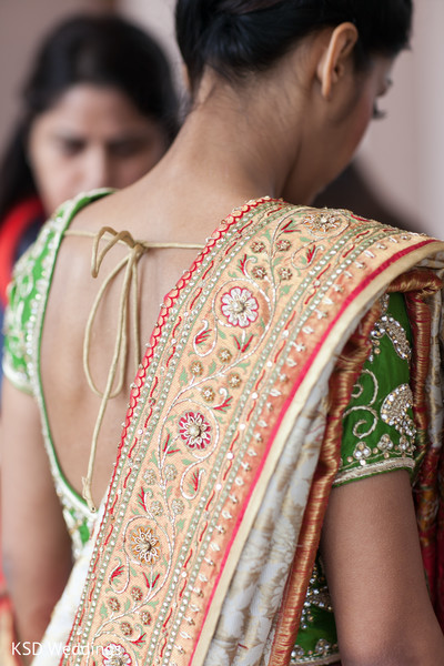 Getting Ready in Great Neck, New York Indian Wedding by KSD Weddings