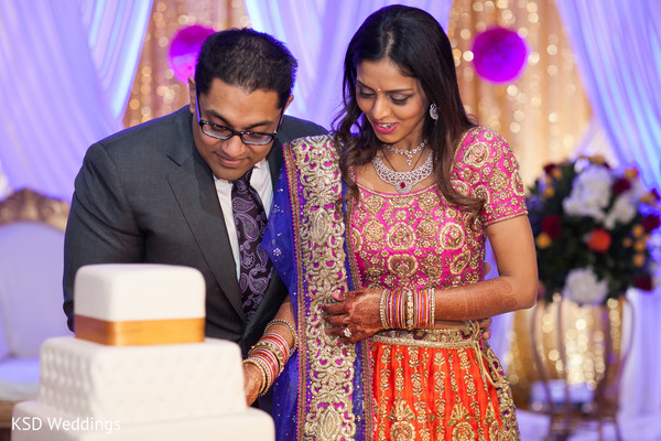 Reception in Great Neck, New York Indian Wedding by KSD Weddings