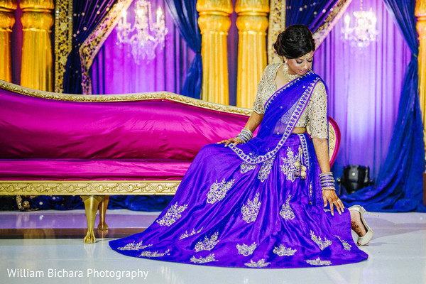 Pre-Wedding Bridal Portrait in Dallas, TX Indian Wedding by William Bichara Photography