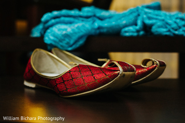 Groom Accessories in Dallas, TX Indian Wedding by William Bichara Photography