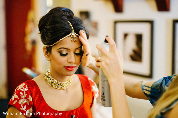 Getting Ready in Dallas, TX Indian Wedding by William Bichara Photography