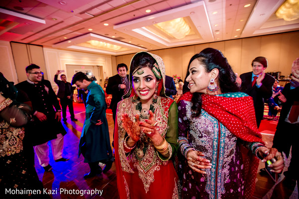 Reception in Linthicum Heights, MD South Asian Wedding by Mohaimen Kazi Photography