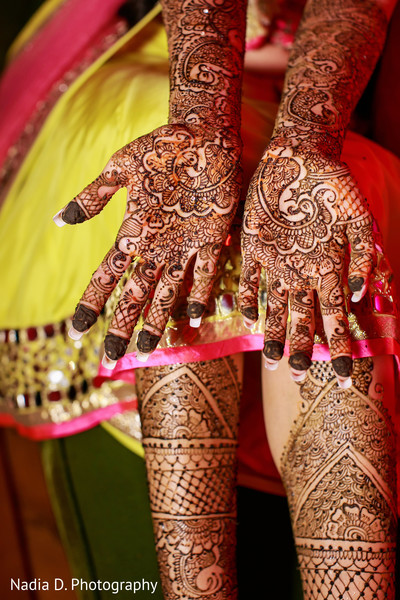 Mehndi in Long Island, NY Sikh Wedding by Nadia D. Photography