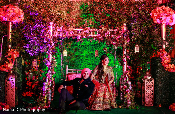 Pre-Wedding Portrait in Long Island, NY Sikh Wedding by Nadia D. Photography
