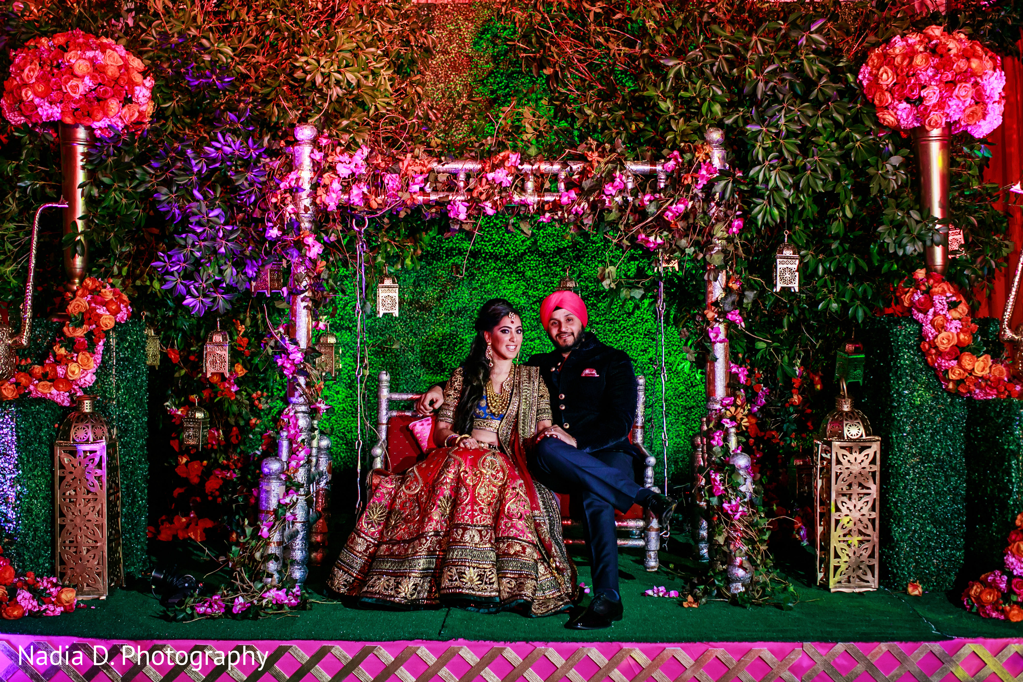Long Island Ny Sikh Wedding By Nadia D Photography