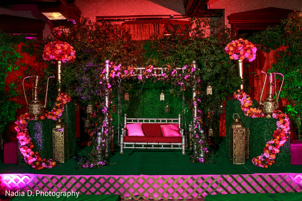 Floral & Decor in Long Island, NY Sikh Wedding by Nadia D. Photography