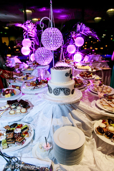 Dessert Table in Long Island, NY Sikh Wedding by Nadia D. Photography
